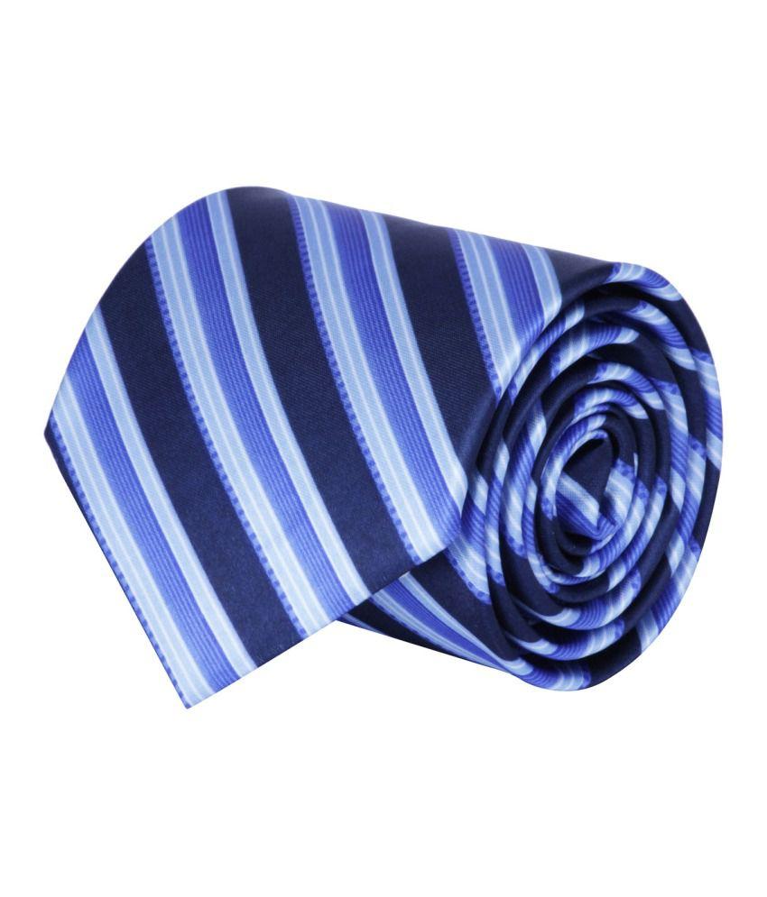 CorpWed Blue Broad Tie