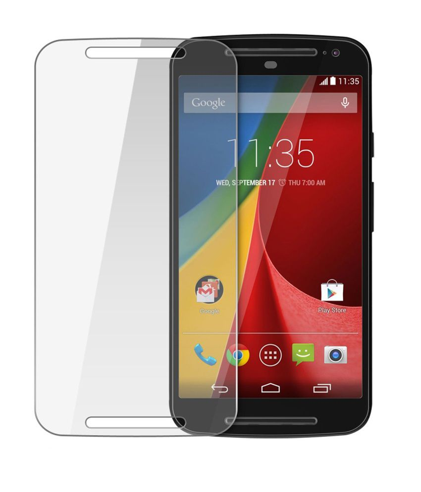 Moto X 2nd Gen. Tempered Glass Screen Guard by Zeorgia