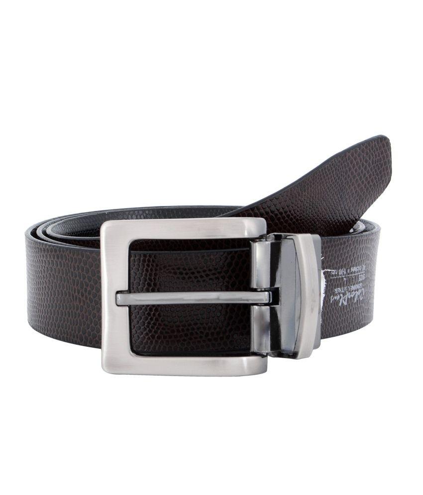 Colorplus Black Formal Single Belt For Men