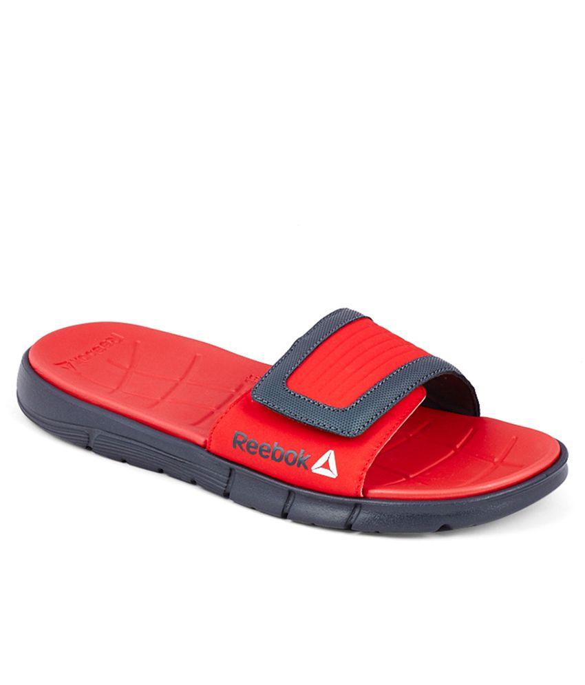 Buy Reebok Z Supreme Slide Red Slippers