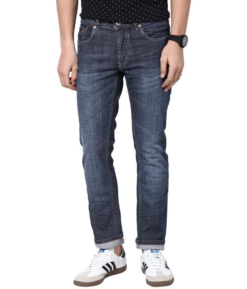3 Concept Blue Skinny Fit Jeans