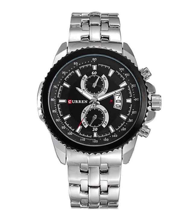 Curren Men Planet Ocean Series Steel Watch