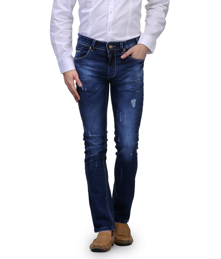 Canary London Blue Slim Fit Jeans