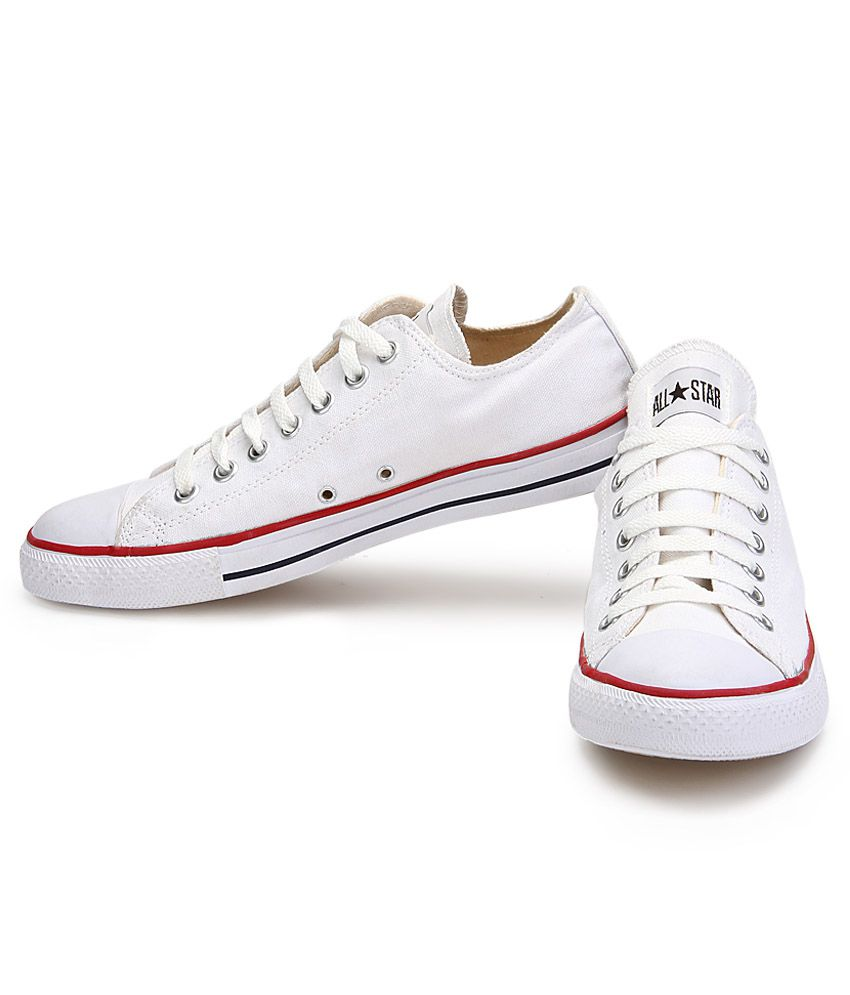 594e1c478262 Converse White Casual Shoes Price in India- Buy Converse White ...