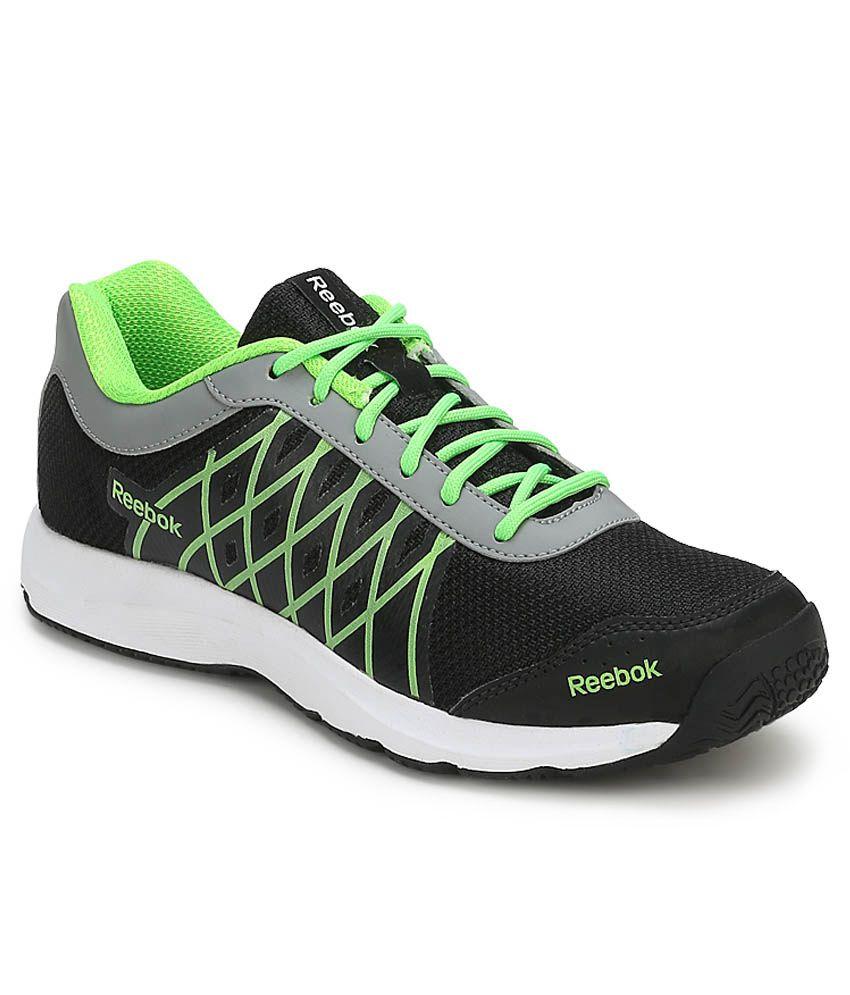 Black Sport Shoes India