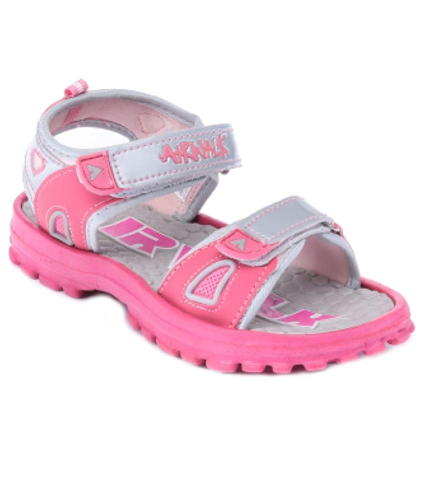 80adde62f9c32 Airwalk Cute Pink Floater Sandals For Kids Price in India- Buy Airwalk Cute  Pink Floater Sandals For Kids Online at Snapdeal