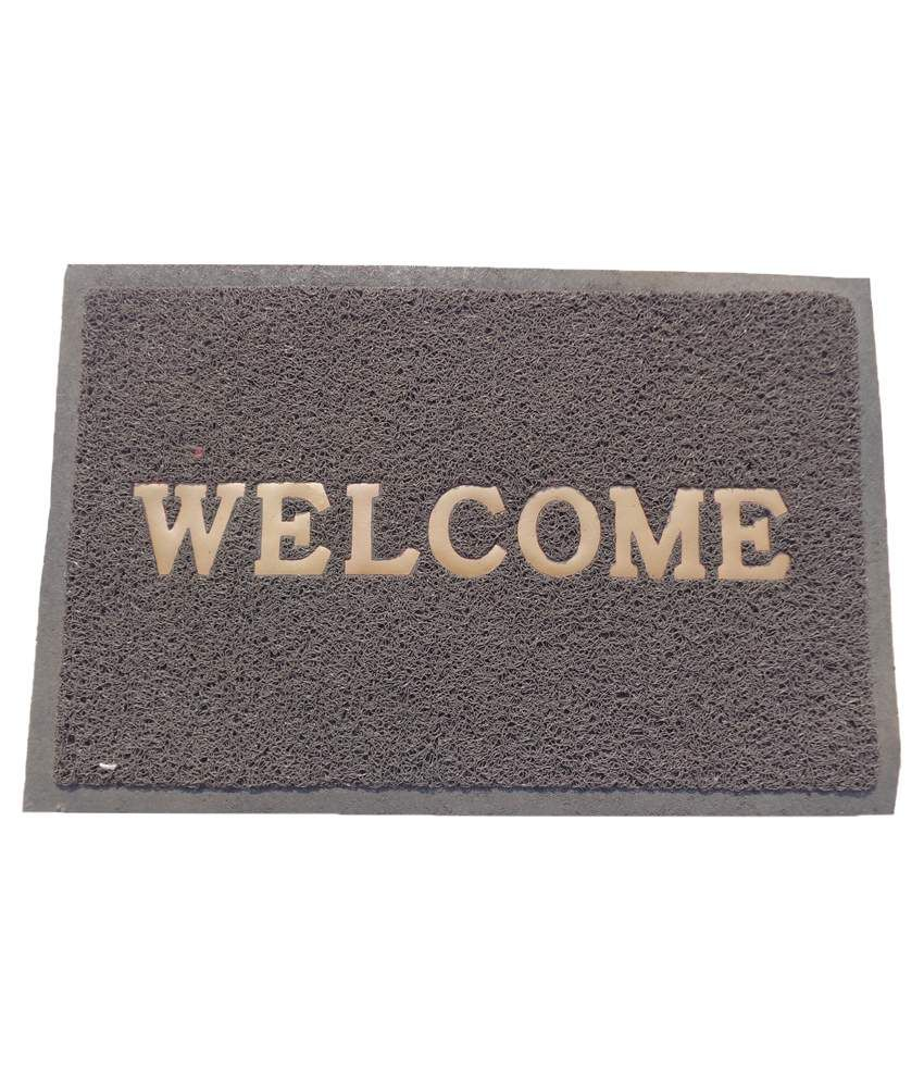 Fab Home Gray Door Mat Buy Fab Home Gray Door Mat Online At Low Price Snapdeal
