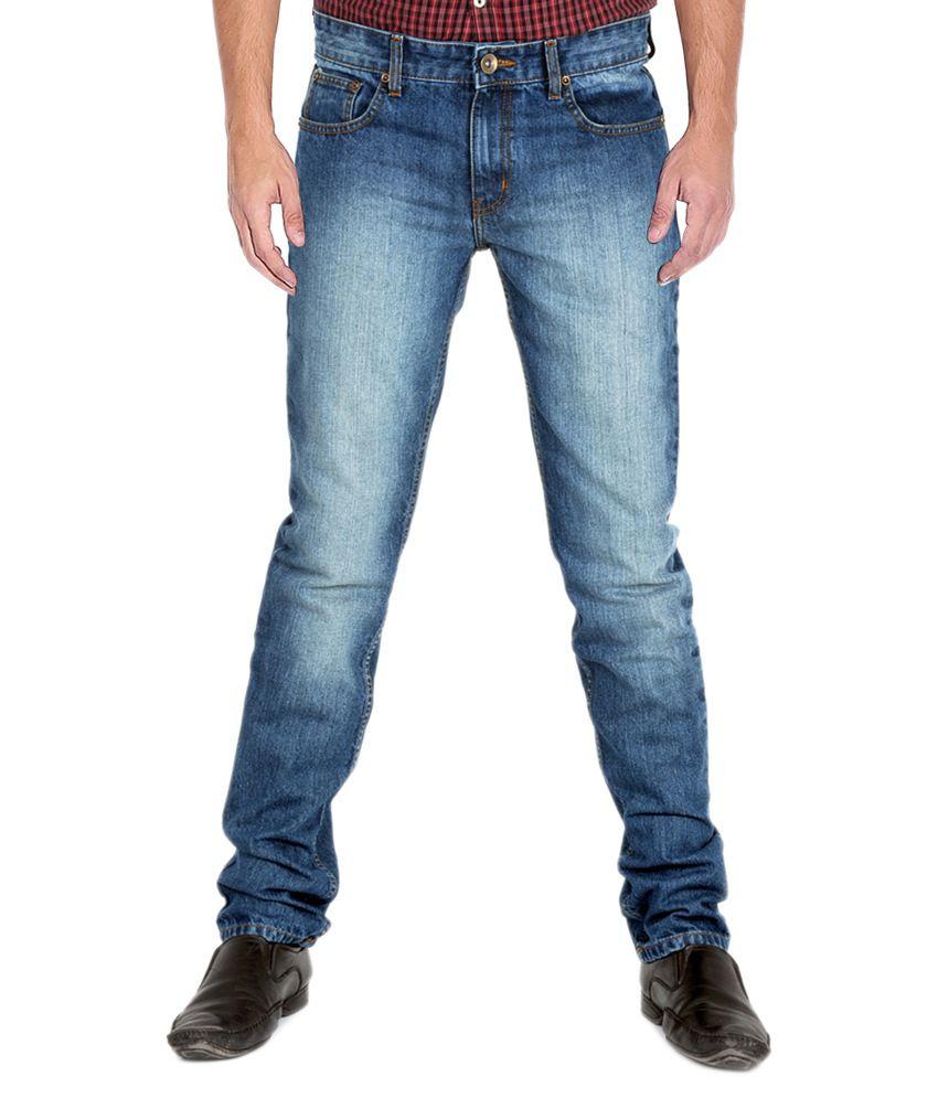 Indigen Blue Slim Fit Jeans