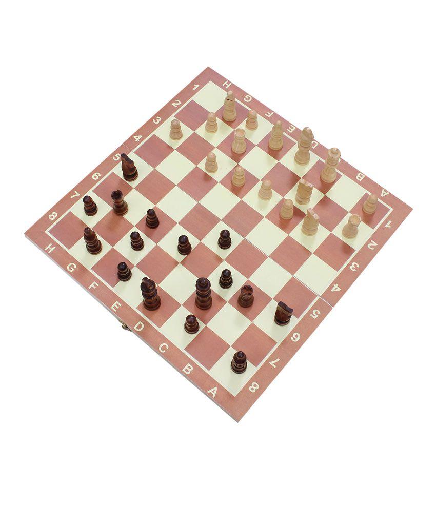 Konark Wooden Multicolor Chess L