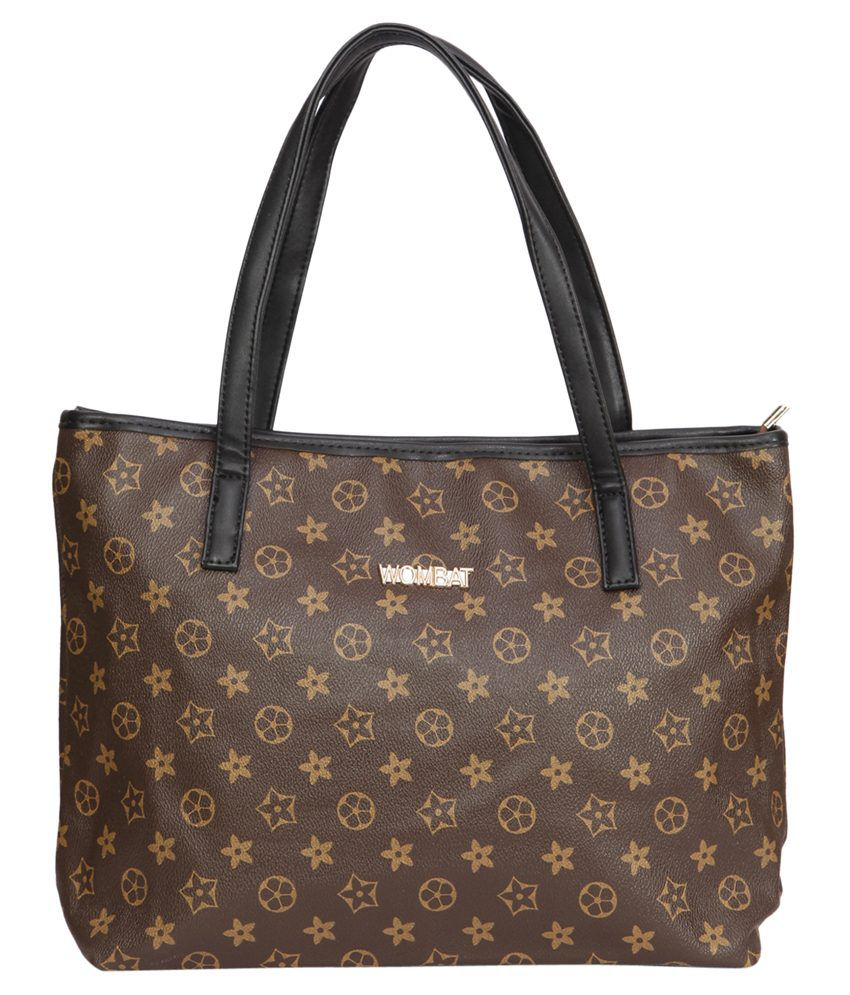 Bagkok Brown Tote Bag
