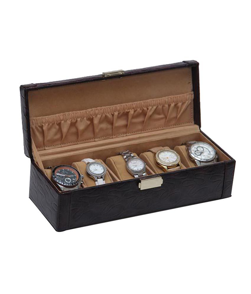 Buy Borse Brown Watch Cases - 1 Pc at Best Prices in India - Snapdeal