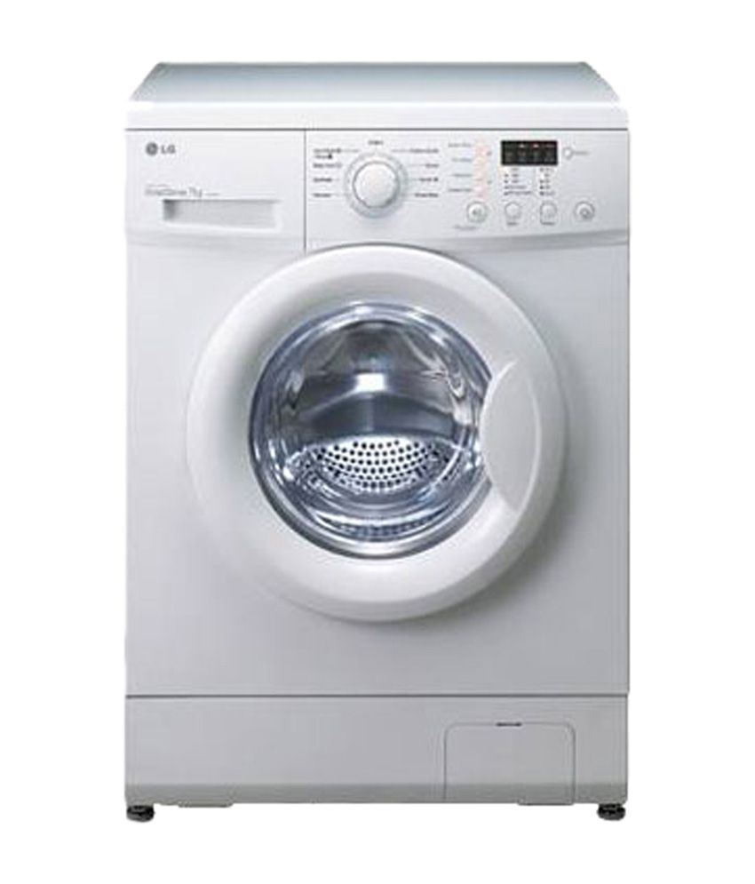 LG 6 Kg F10E3NDL2 Fully Automatic Front Load Washing Machine White