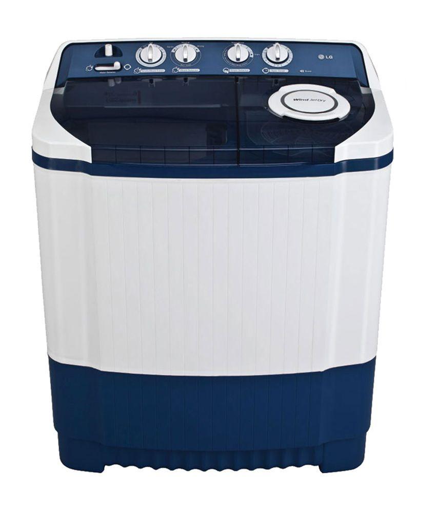 LG 7.8 Kg P8837R3SM Semi Automatic Top Load Washing Machine Dark Blue