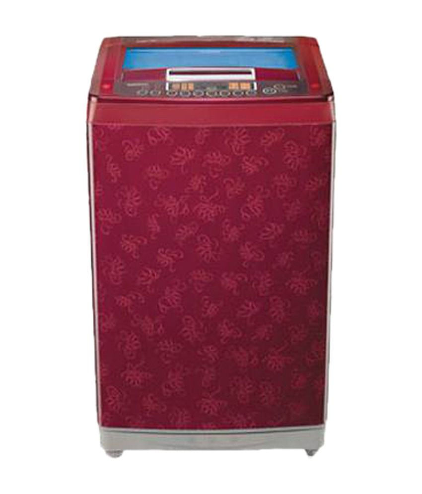 LG 9 Kg T10RRF21V1 Fully Automatic Top Load Washing Machine Dark Red