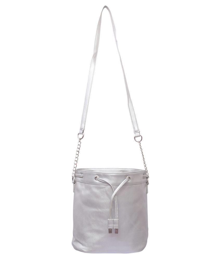 Lychee Bags Silver Sling Bag - Buy Lychee Bags Silver Sling Bag ...