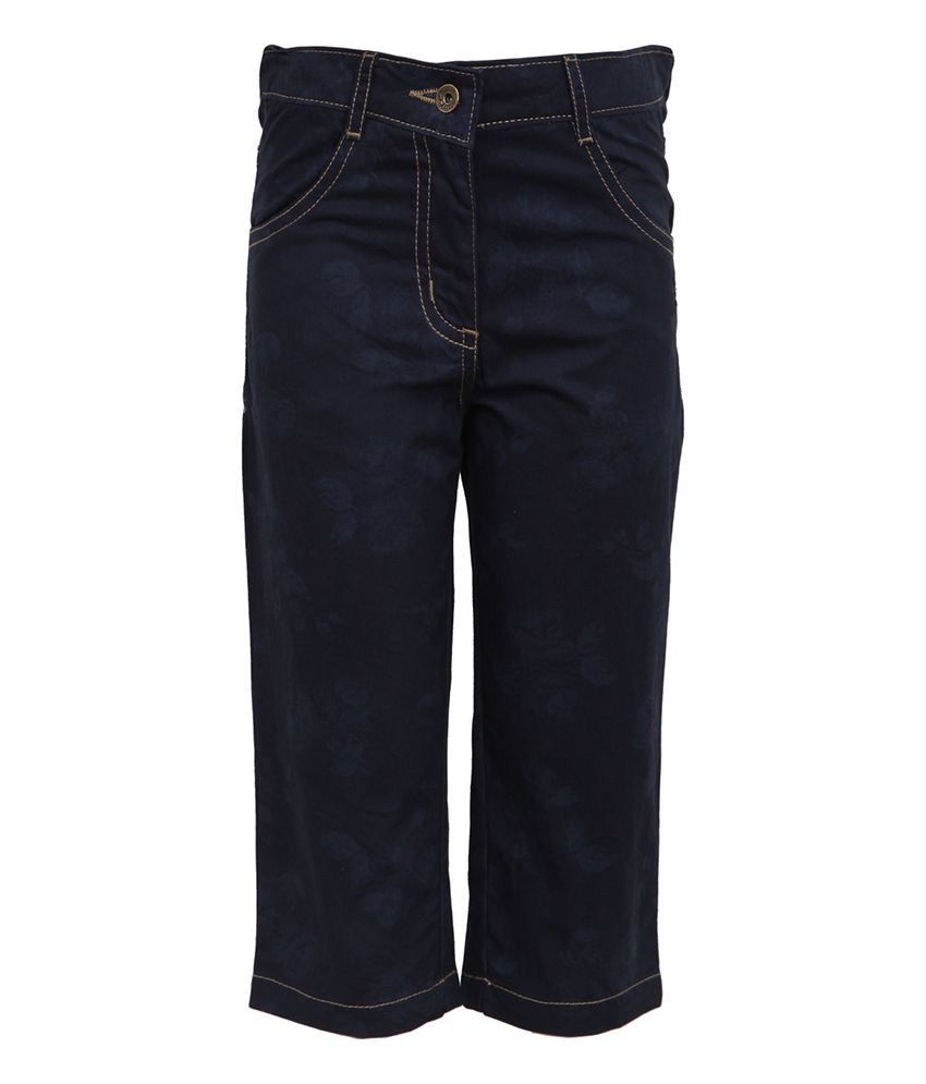 Bells and Whistles Blue Capris