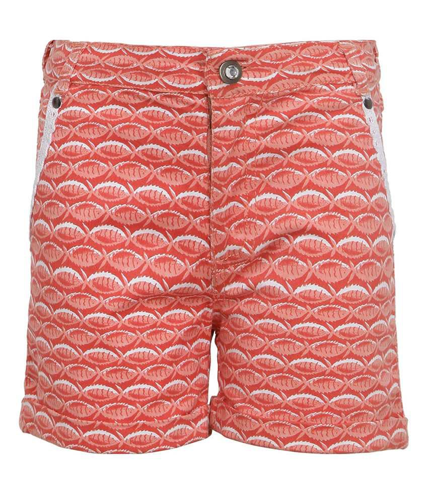 Bells and Whistles Orange Shorts