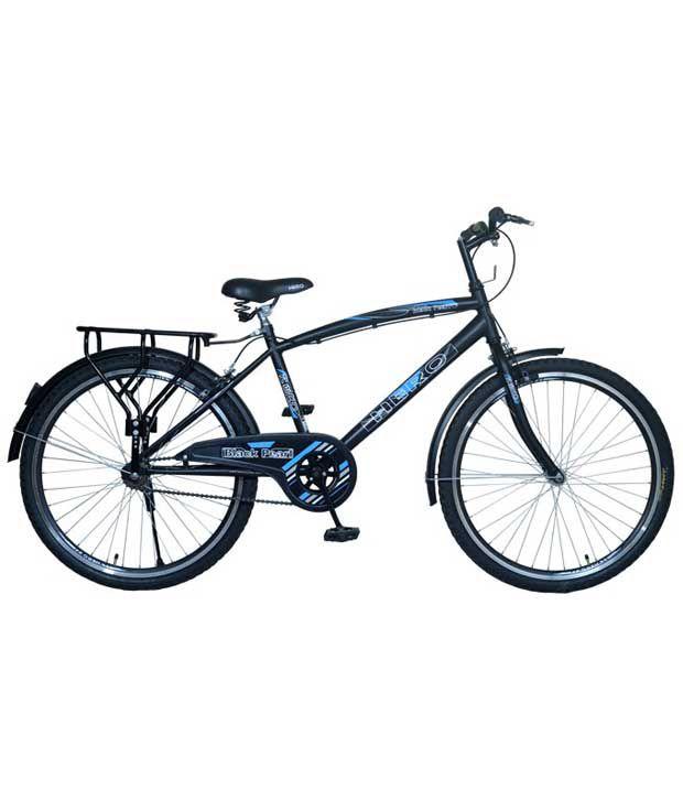 bc99bb21dd2 Hero Black Pearl 26T Single Speed Bike Cycle Bicycle Adult  Bicycle/Man/Men/Women