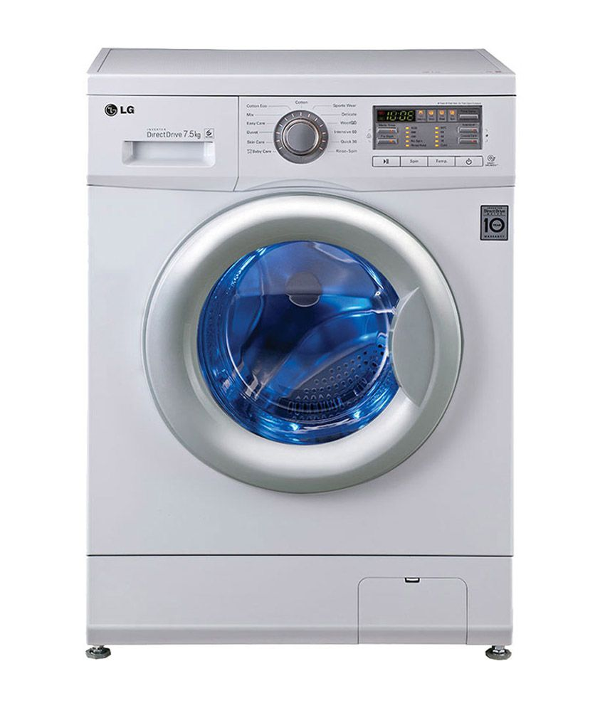 Lg 7 5 Kg Front Load F12b8edp21 Fully Automatic Washing
