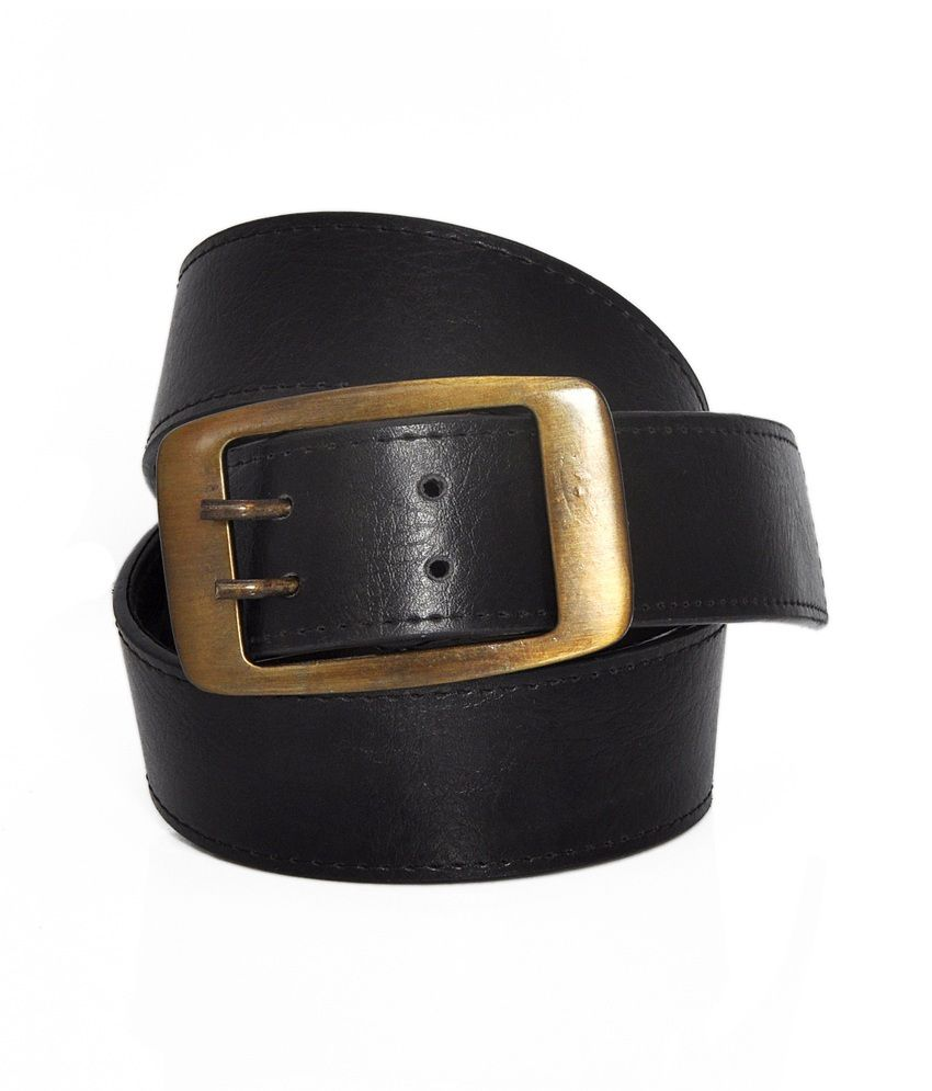 Stylox Black Pin Buckle Belt
