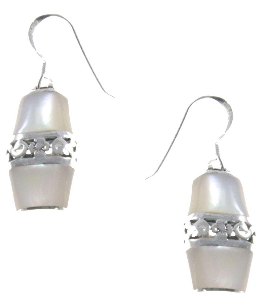 Elbling 92.5 Sterling Silver Drop Earrings