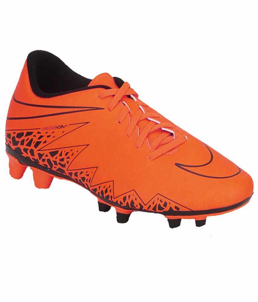 Nike Orange Sports Shoes