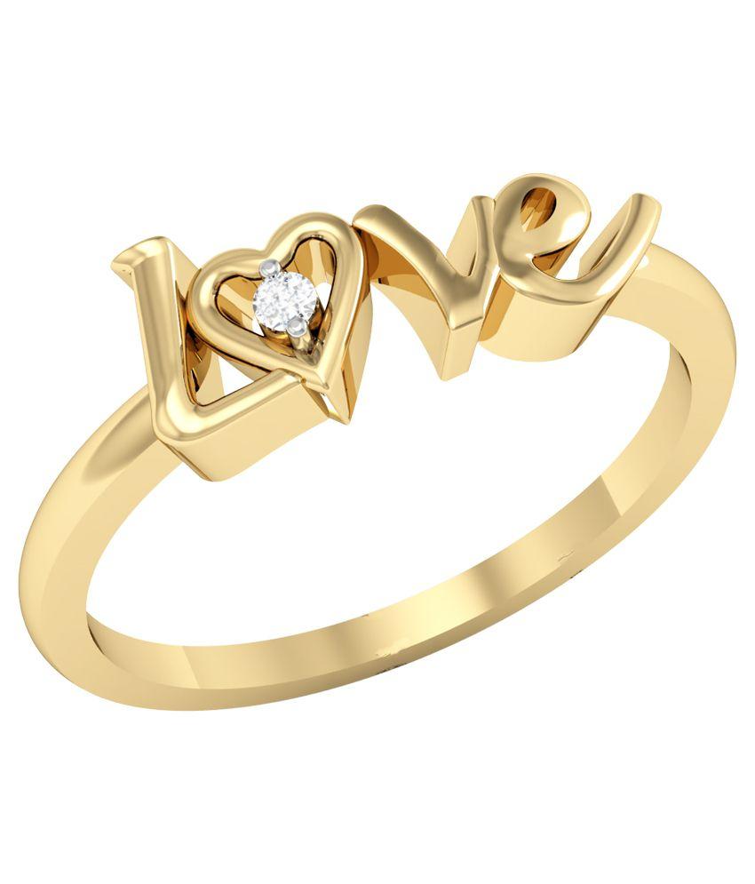 Vachya 14k Diamond Ring