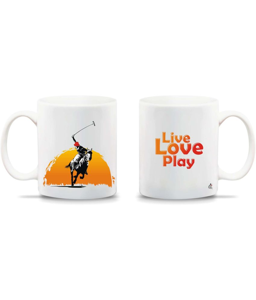Chipka Ke Bol Polo Design Ceramic Mug