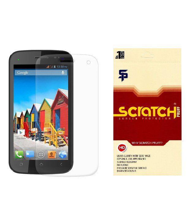 Scratch Pruff Matte Screen Guard For Micromax Canvas Xpress A99
