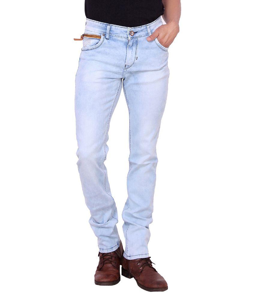 Kavis Blue Slim Fit Jeans