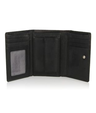 Pepe Jeans Leather Black Men Regular Wallet Buy Online At Low Price In India Snapdeal