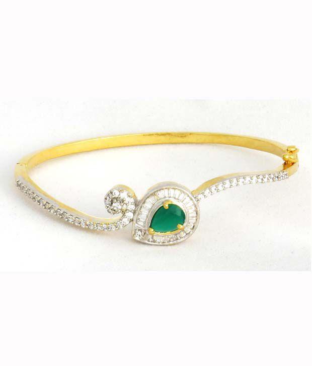 Designer diamond bracelet