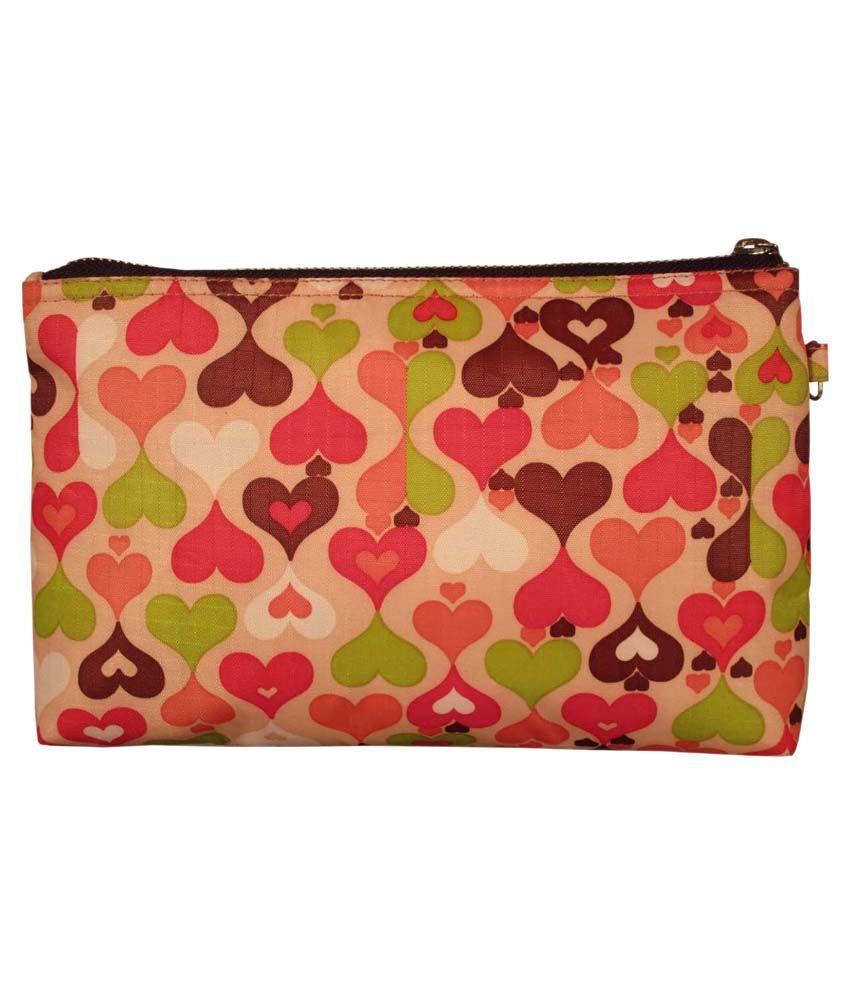 Scoopstreet Multicolour Zip Beach Bag