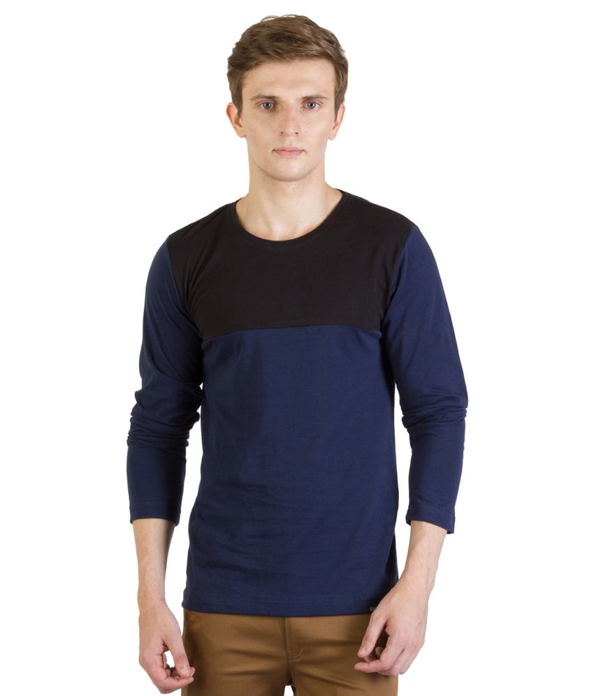Rigo Blue Cotton T - Shirt