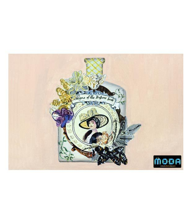 Studio Moda Beige Lovers Of The Perfume Book Painting
