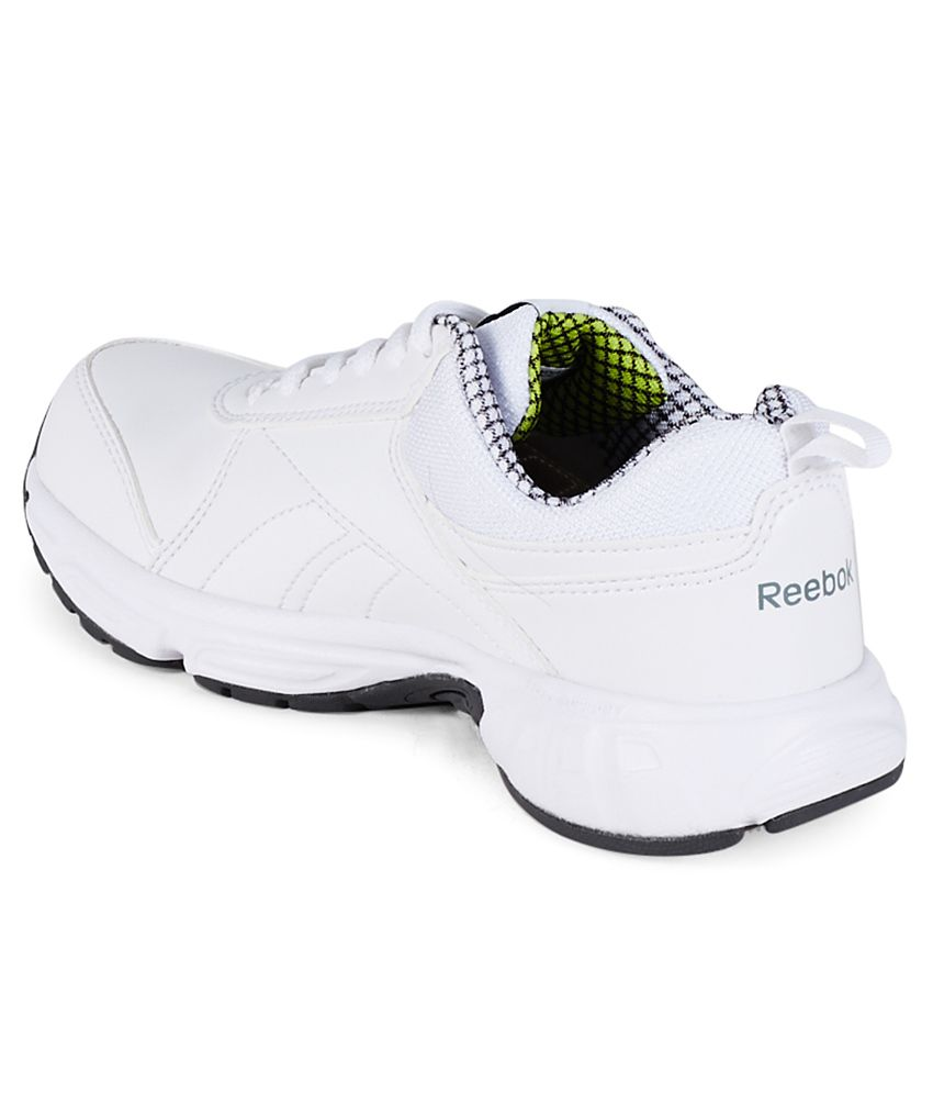 99e77a1c00af Reebok School Sports Lp White Sports Shoes For Kids Price in India ...