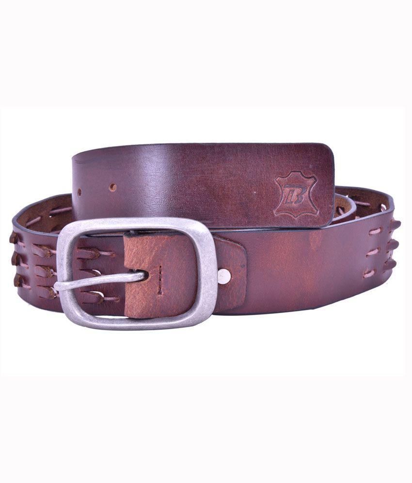 Bonafide Leather Brown Belt
