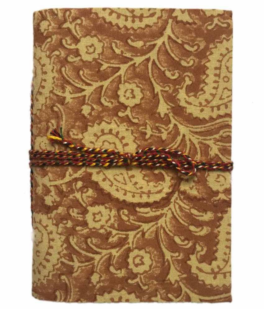 R Store Handmade Bagru Print Plain Journal