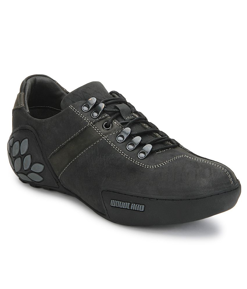 ... Price in India- Buy Woodland Black Outdoor Shoes Online at Snapdeal