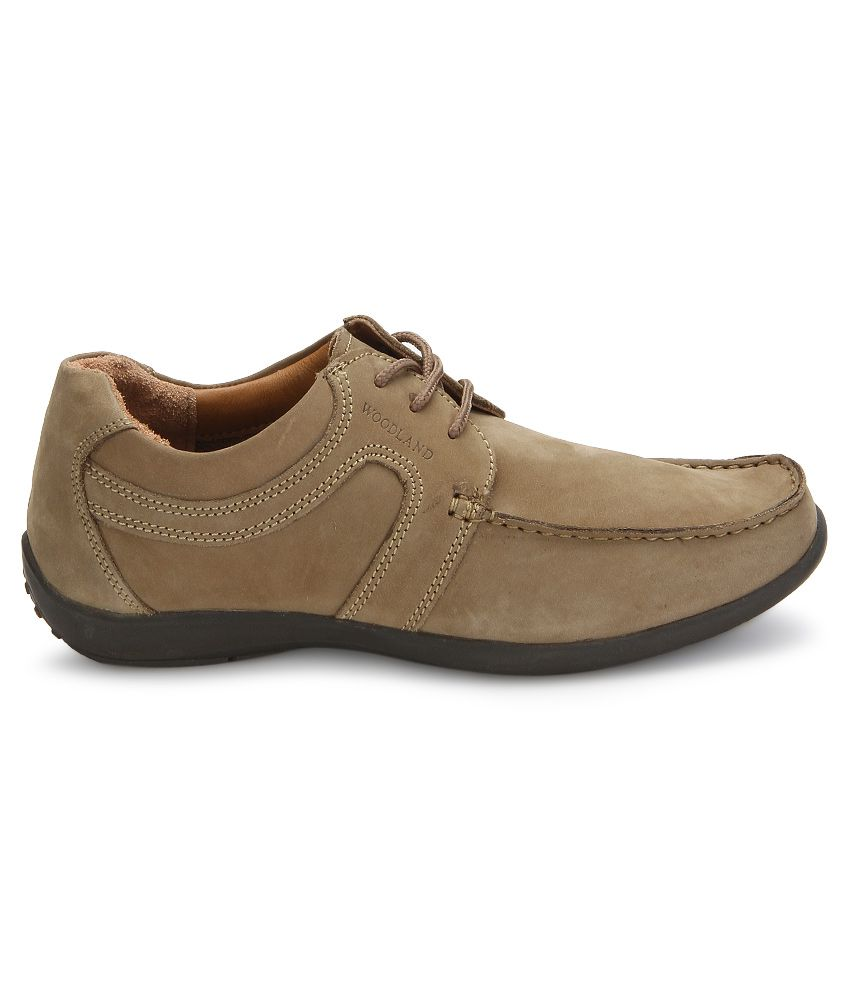Woodland Khaki Casual Shoes Art MGC592108KHK - Buy ...