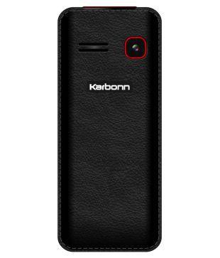 Karbonn K88 Black & Red