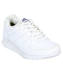 Asian White Sports Shoes For Kids