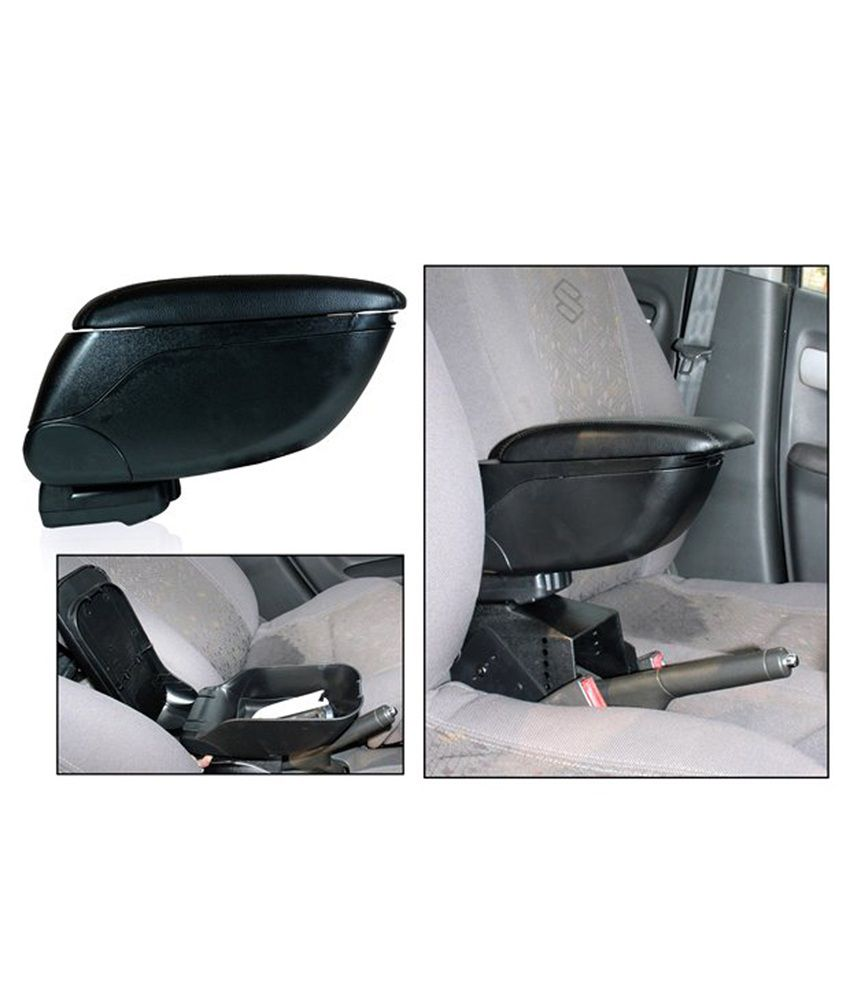 Car interior accessories india -  Imported Car Universal Armrest And Centre Console Black
