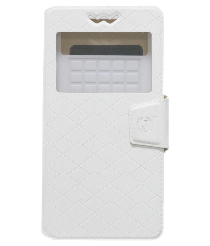Jo Jo Flip Cover For LG G Pro 2 (32 GB) - White