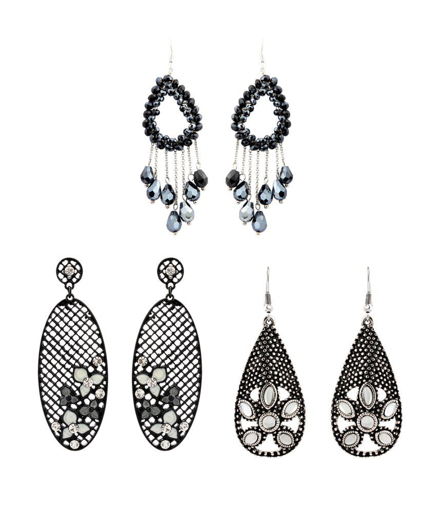 Just Women Alloy Earring Combo