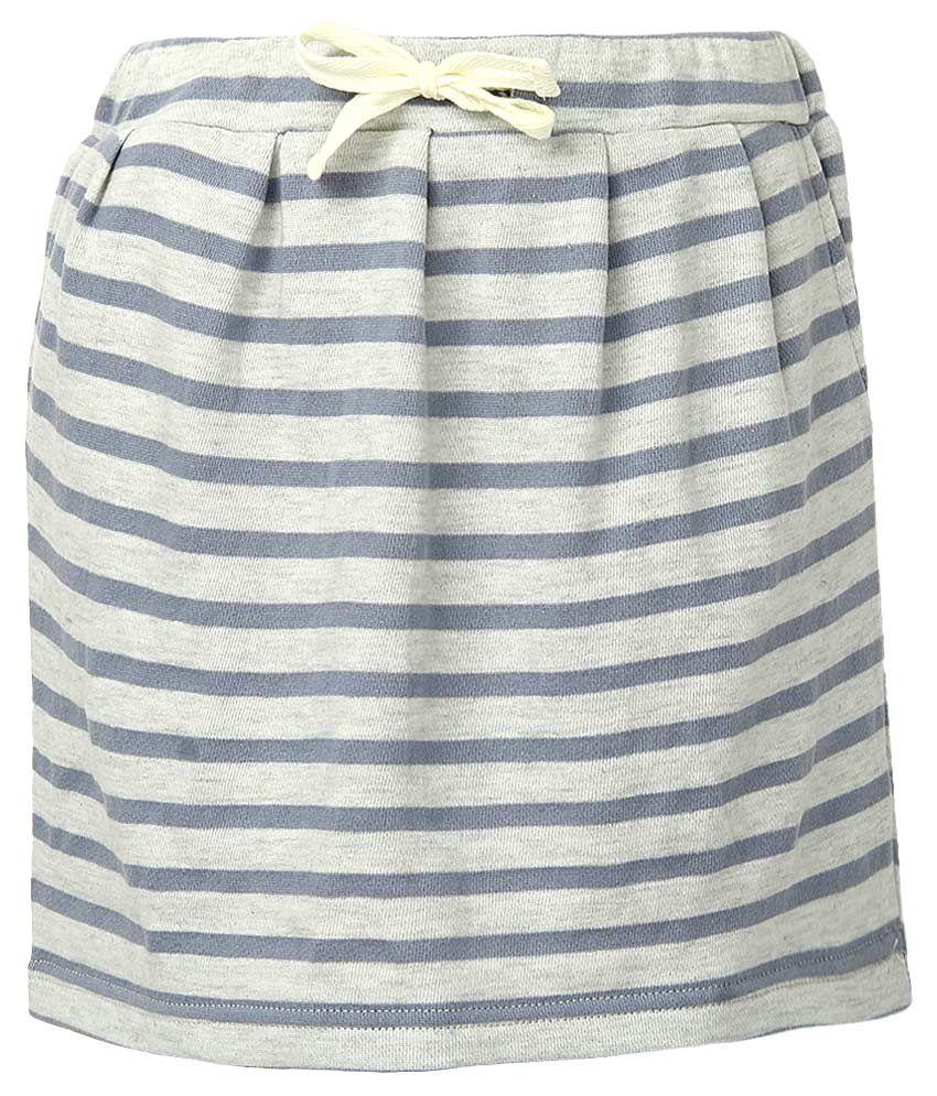 Milk Copenhagen Blue Striped Skirt
