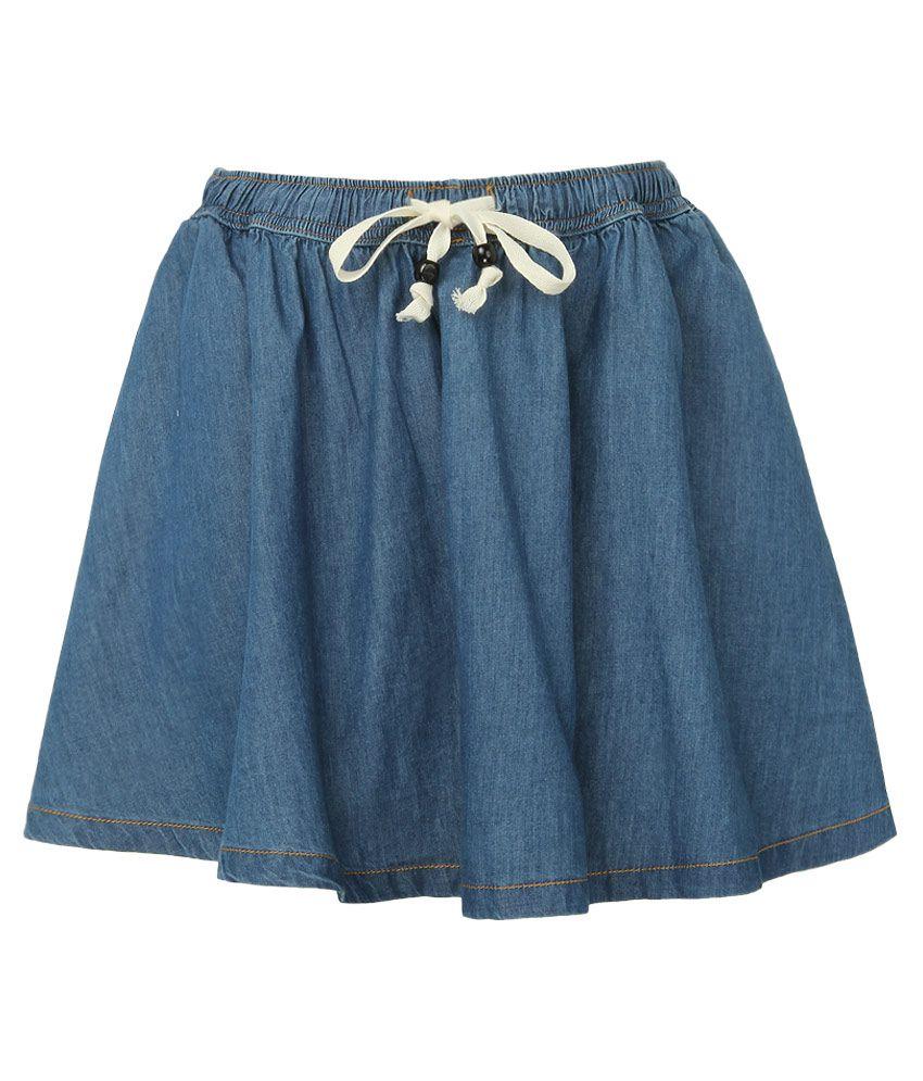 Milk Copenhagen Navy Solid Skirt