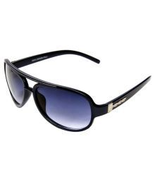 Adine Black 300020-BLACK-BLUE Sunglasses