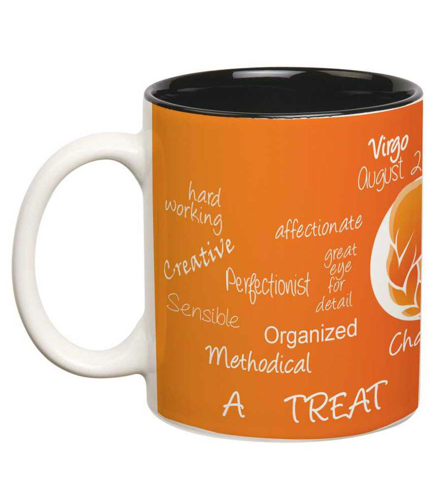 Prithish Orange Virgo Double Color Mug