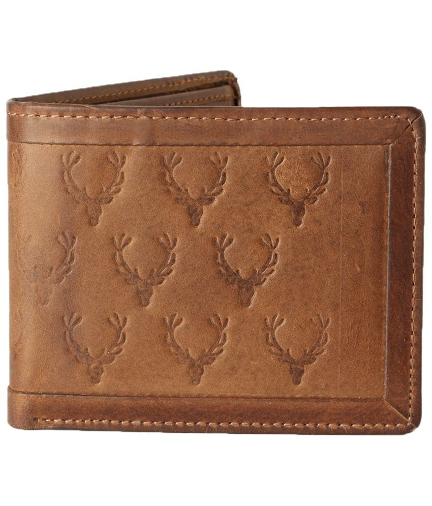 bd1a7845acad Allen Solly Sober Brown Wallet for Men  Buy Online at Low Price in India -  Snapdeal